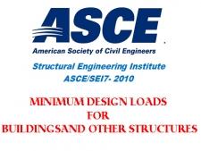 بارهای طراحی ساختمان ها و دیگر سازه ها، ASCE/SEI 7