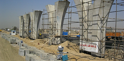 Grout Injection, Saeed Abad- Azadegan Bridge