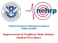 بهبود روش های تحلیل استاتیکی-غیرخطی جهت طراحی لرزه ای، FEMA 440