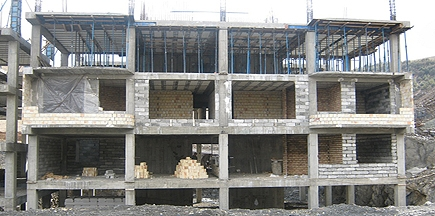 Strengthening of Sanandaj Mehr Project Buildings